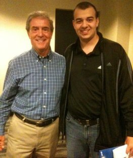 I got a chance to meet Denny Matthews in the 2010 KAB Sports Seminar at Kauffman Stadium.