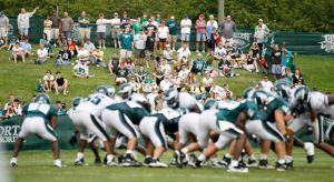 Eagles Camp Football